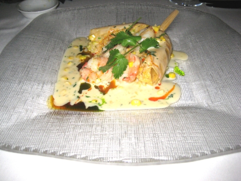 Shrimp Tamale... oh sooo good.