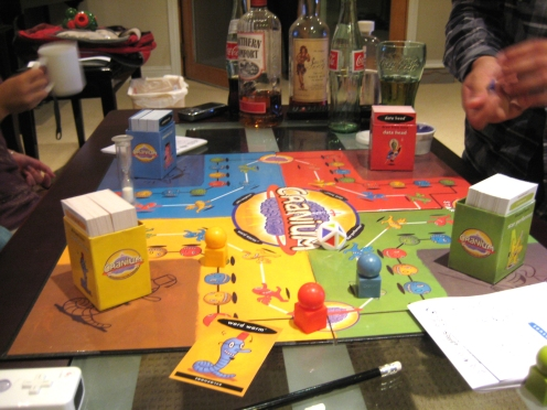 Cranium: a game that usually causes me to curse more than when I'm playing Monopoly.